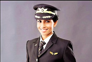 India's youngest female Commander of Boeing 777