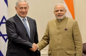 Israel PM in India
