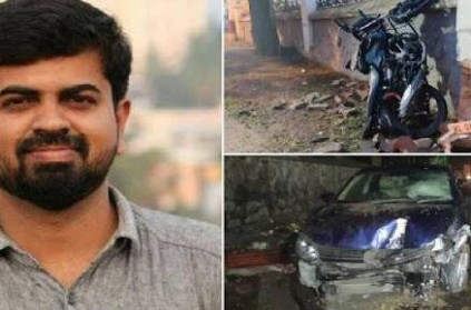 Kerala journalist dies in road accident, IAS officer in car
