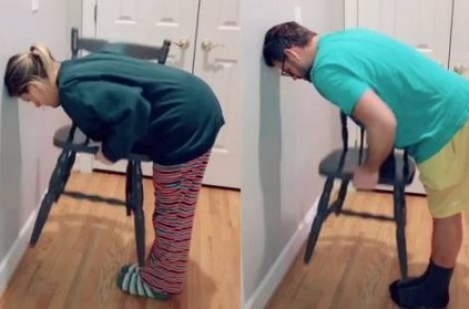 Latest \'Chair Challenge\' Is Easier For Women, Than Men
