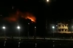 Massive fire in Mumbai building yet again!