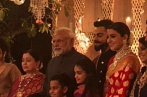PM Modi attends Virat and Anushka's wedding reception! See pic