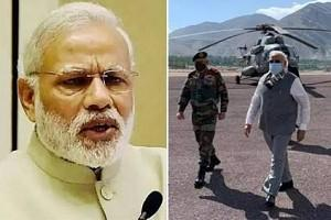 China Tension: PM Modi makes Emergency landing in Ladakh, to Visit Army Border Positions!
