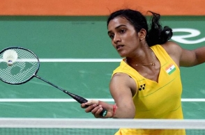 PV Sindhu takes charge as Deputy Collector