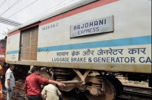 Rajdhani express derails in country capital