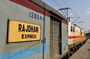 Second for the day: Ranchi bound Rajdhani express derails