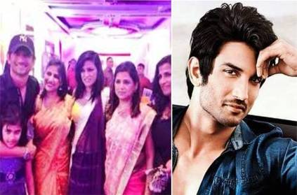 Sushant learnt everything from his sisters shares video