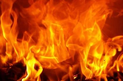 Telangana - College student set on fire by classmate