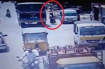 Two on bike fall to death after driver flings open door in Hyderabad.