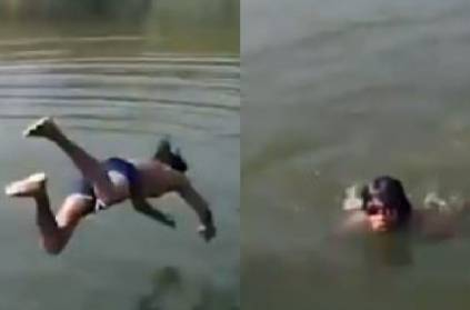 Video: Youth Drowns in pond while friends record video