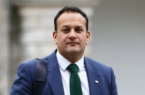Indian-origin man front runner in Irish PM race