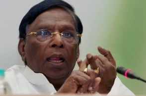 Pondy CM defends Chidambaram in INX Media case