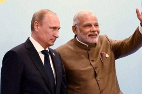 Putin to meet Modi at St. Petersburg economic forum