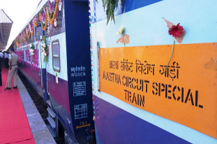 Railway Minister flags off Gandhi Darshan special tourist train