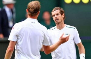 Sam Querrey beats top seed Andy Murray in Wimbledon QFs