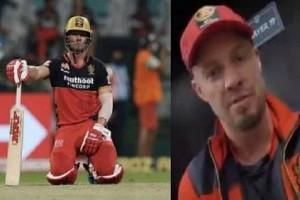 WATCH | AB de Villiers Apologises To RCB Fans After Loss To SRH; Video Makes Fans Emotional!