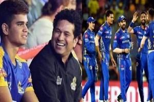 IPL 2020: Sachin Tendulkar's Son Joining Mumbai Indians? Fans Curious after this Interesting Photo goes Viral!