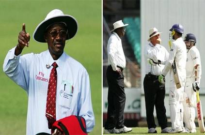 Bucknor reveals giving out for not out to Sachin Tendulkar