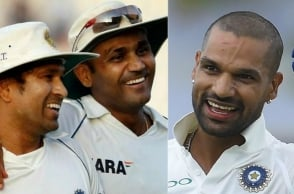 Check out Sachin and Sehwag's very special messages for Shikar Dhawan!