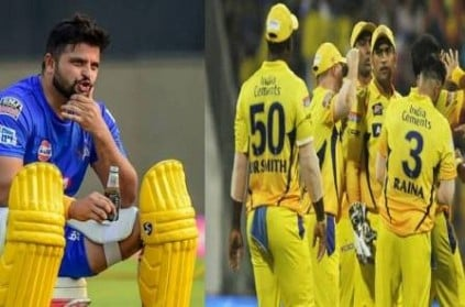 chennaisuperkings remove suresh raina name from official website