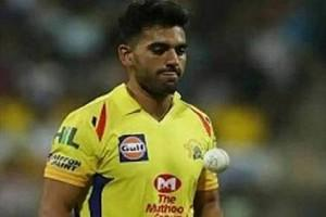CSK 'Opens Up' on Deepak Chahar's COVID-19 Test and 'Return' to Team - Report!