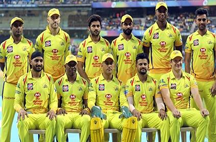 Csk ipl20 squad covid negative harbhajan to travel after 2 weeks