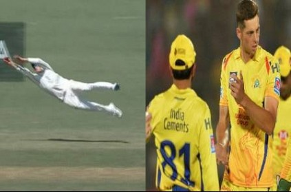 CSK reacts to New Zealand video on Santner\'s flying catch vs Eng