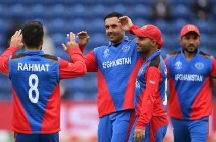 CWC2019: Afganistan\'s Nabi takes 3 wickets in 1 over against SL