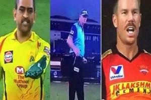 David Warner 'Finally Breaks Silence' Over MS Dhoni and Umpire Paul Reifell Wide Controversy