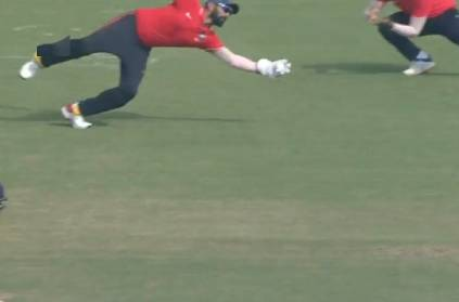 Dinesh Karthik One-Handed Catch In Deodhar Trophy Final