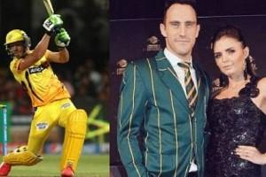 Faf du Plessis' Wife Imari Tells Husband'Let's have more babies'; CSK Cricketer Replies