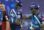 Video: Hardik Pandya and Chris Morris Caught Into A Heated Argument During MIvsRCB Clash; Calls For Trouble!