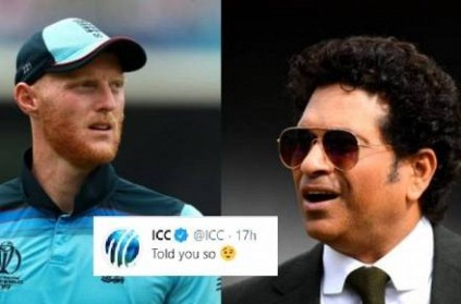 ICC Calls Ben Stokes \'Greatest Cricketer,\' Sachin Fans Angry.