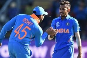 """""""I'm the Captain now, and you are playing"""": Rohit Sharma's faith in Yuzvendra Chahal"""