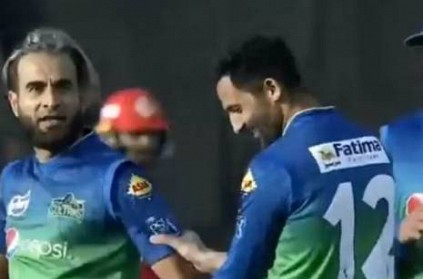 Imran Tahir Colin Munro Involved Fiery Exchange After Celebration