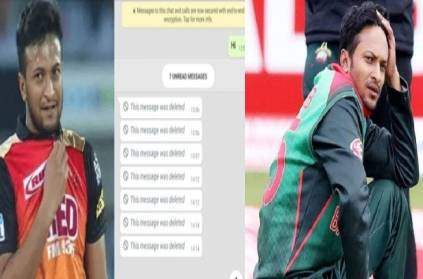 Indian bookie mentions IPL in Shakib's WhatsApp text, ICC