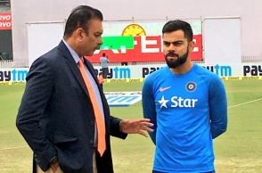 Virat Kohli contradicts coach Ravi Shastri's opinion