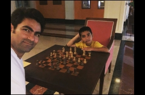 Kaif faces social media backlash for playing chess with his son
