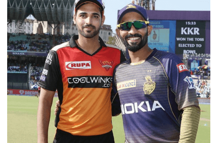 KKR vs SRH toss report and playing XI details