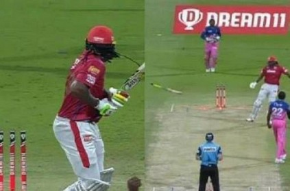 kxipvsrr chris gayle fined for breaching ipl code of conduct