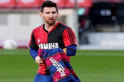 lionel messi fined 600 euros for tribute to diego maradona report
