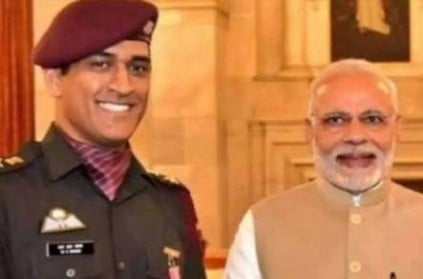 ms dhoni shares replies to pm modi letter after his retirement