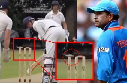 Out or Not? Watch Video That Confused Sachin Tendulkar
