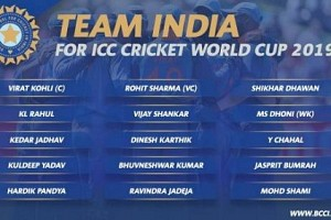 ICC World Cup 2019: Team India Squad Announced, Find them here!