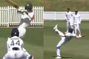 'Unbelievable Catch'! Prithvi Shaw Takes One-Handed Stunner To Dismiss Tim Paine | WATCH VIDEO
