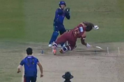 Qais Ahmad floors Andre Russell with a perfect bouncer: Video