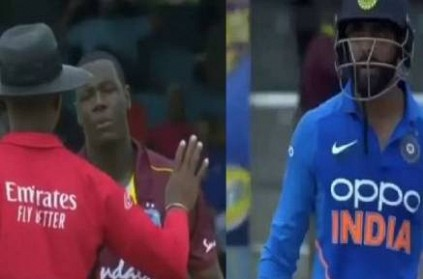 Ravindra Jadeja Gives Daring Look At Umpire: Video Goes Viral