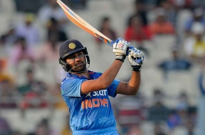 Rohit Sharma breaks world record for most sixes against Australia