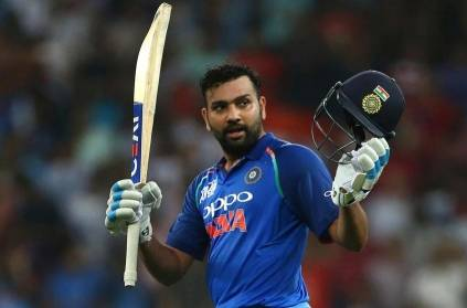 Rohit Sharma grabs first place in the ICC Video