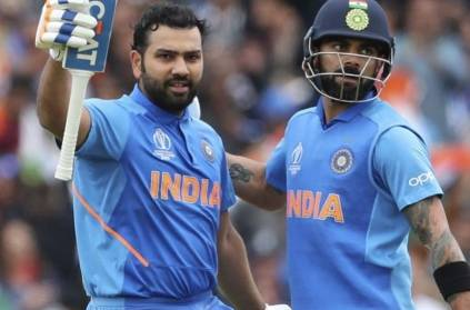 ROHIT SHARMA has topped the charts in ICC's latest WC19 numbers